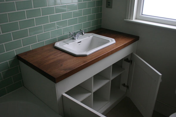 Hand made bathroom