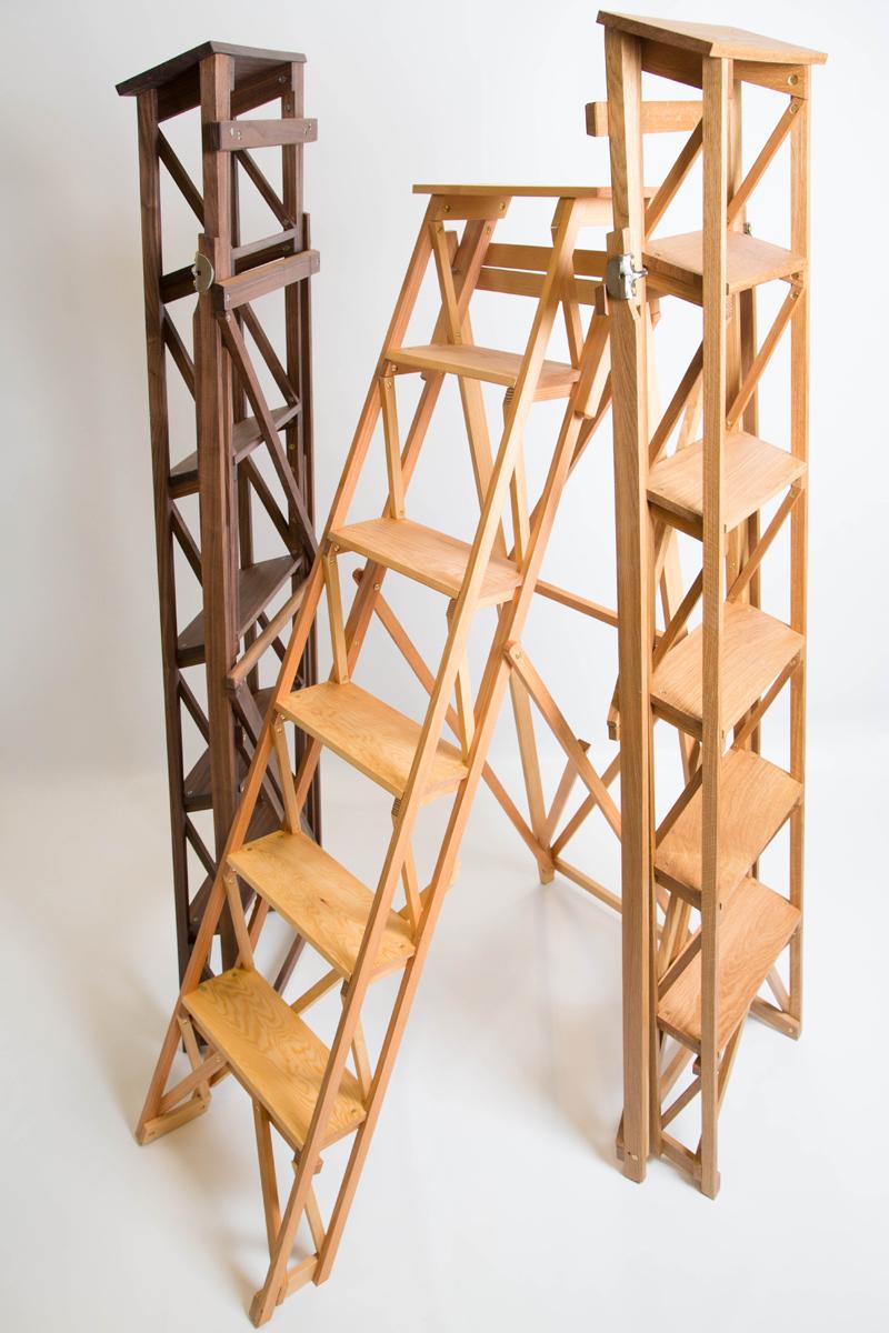 Wooden Stepladder Sylvanus Woodcraft