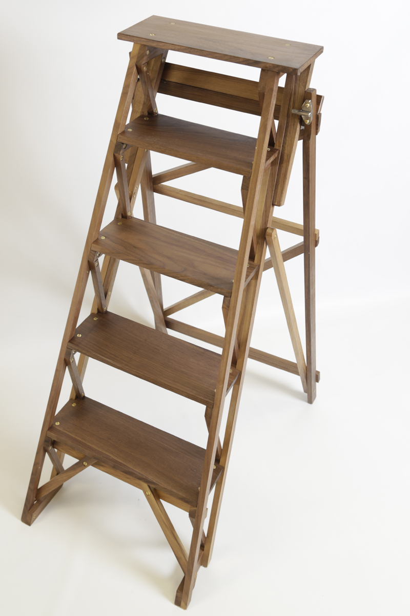 Wooden Stepladder Sylvanus Woodcraft